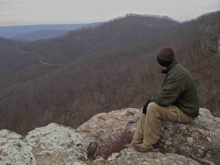 See the beauty of the ozarks during winter for White rock mountain cabins