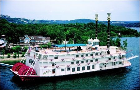 The Showboat at the Table Rock Lake