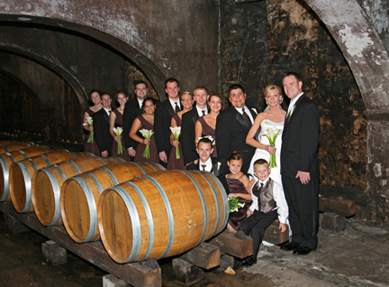 Wedding at the Stone Hills Winery
