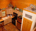 Branson Log Cabin Kitchen