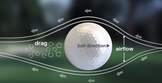 why the golf balls have dimples